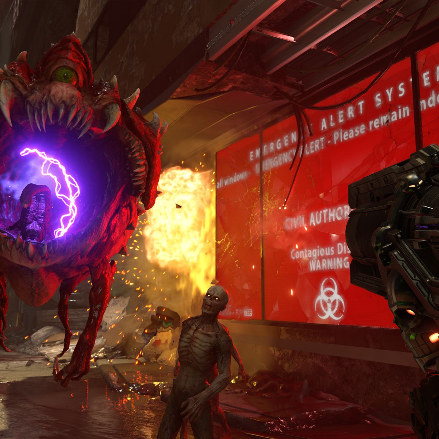 Doom Eternal Single Player Dlc Is Already Part Of The Plan Polygon