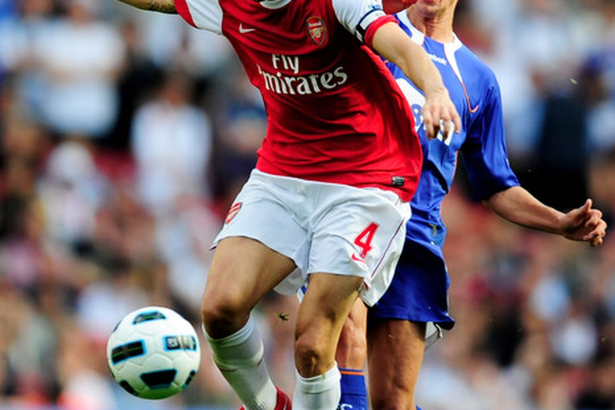 Arsenal captain Cesc Fabregas could pose major problems for the Blues if John Obi Mikel fails to control play in midfield.