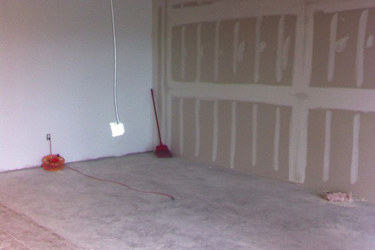 What will soon be Salt & Time's new dining room