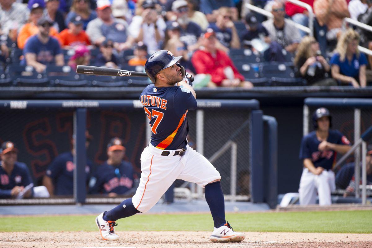 MLB: MAR 20 Spring Training - Yankees at Astros