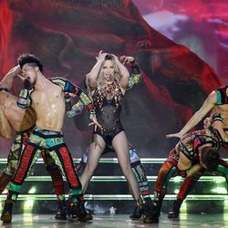 Britney Spears opens <em>Britney: Piece of Me</em> at the Axis Theater at Planet Hollywood Resort. Photo: Denise Truscello/WireImage