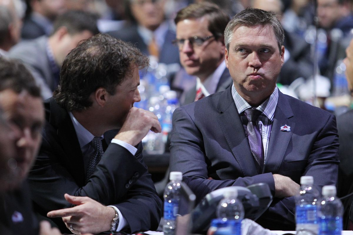 Patrick Roy is an intense dude....
