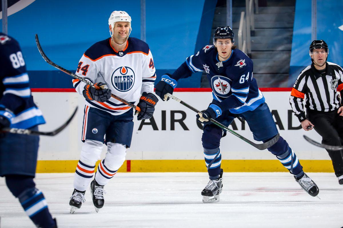Edmonton Oilers v Winnipeg Jets