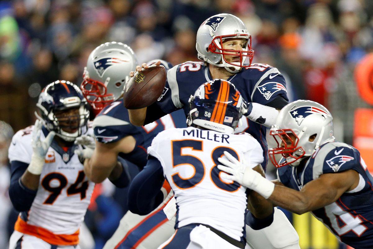 Brady stands tall