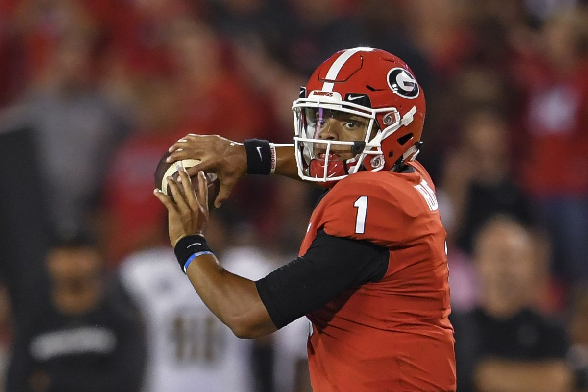 Meet Justin Fields The star Georgia QB Who Might Replace Jake Fromm SBNation com