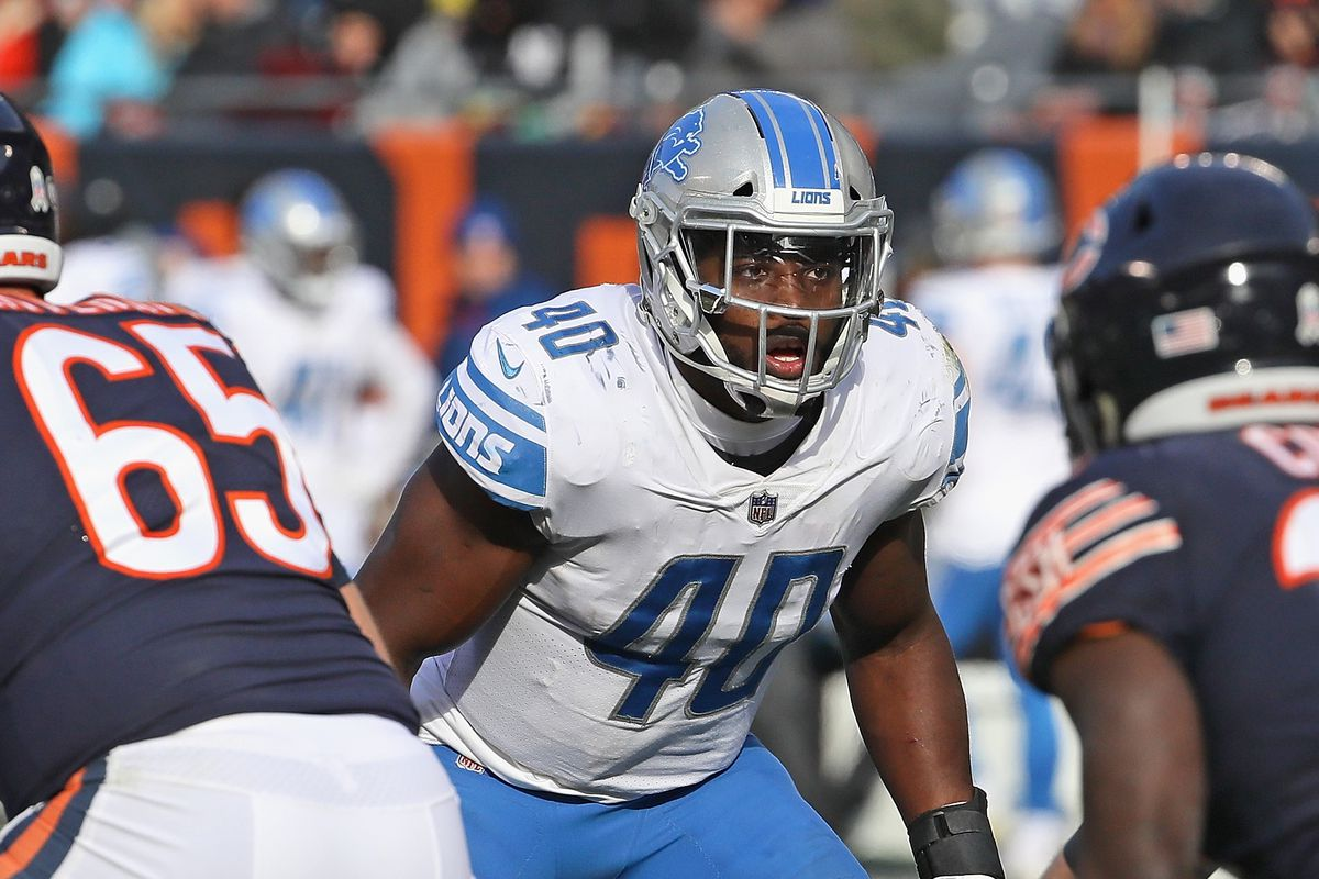 dc089c3ac Film breakdown  Lions need more consistent run support reads from Jarrad  Davis