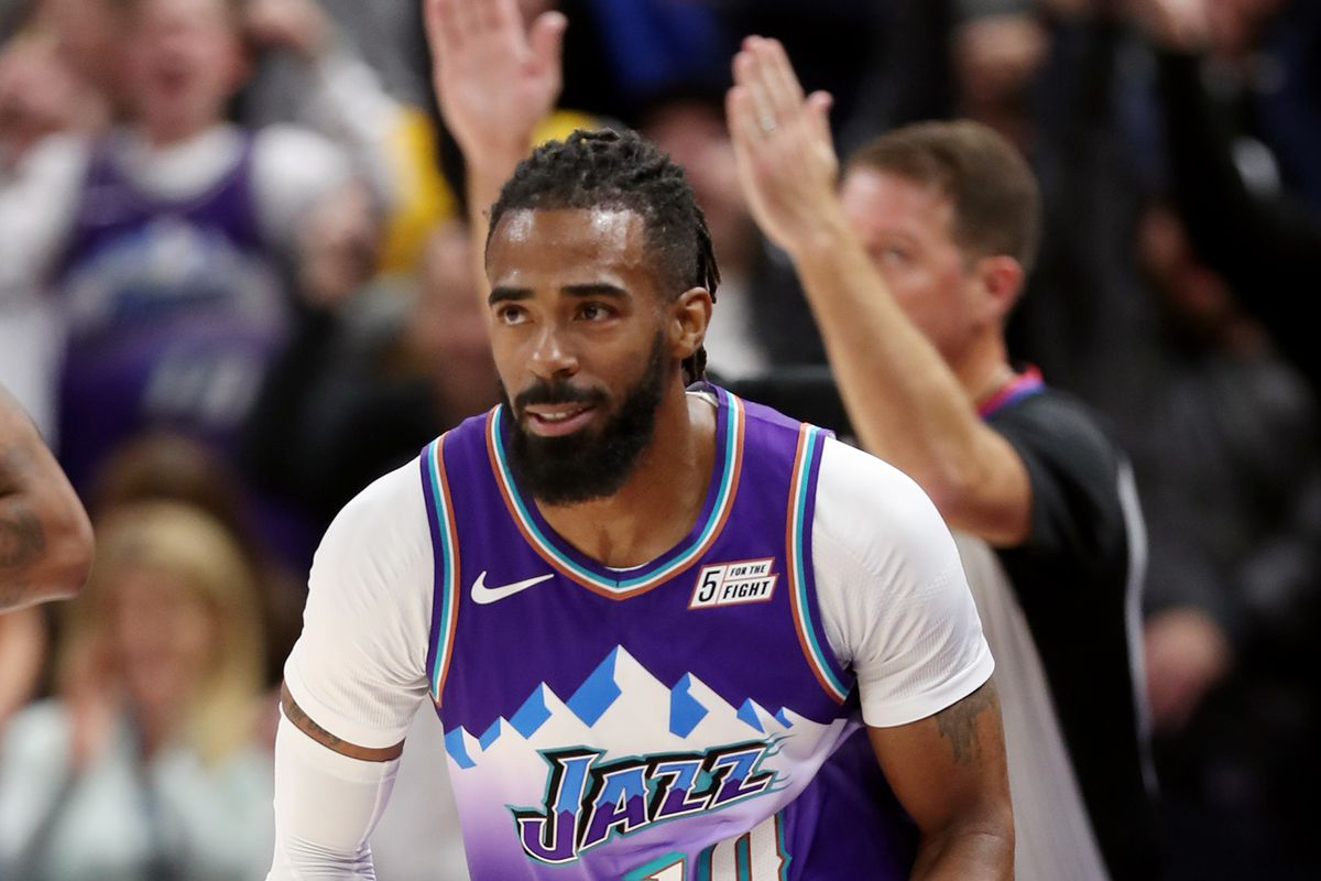 Utah Jazz guard Mike Conley antsy to get back on the court after lengthy injury absence