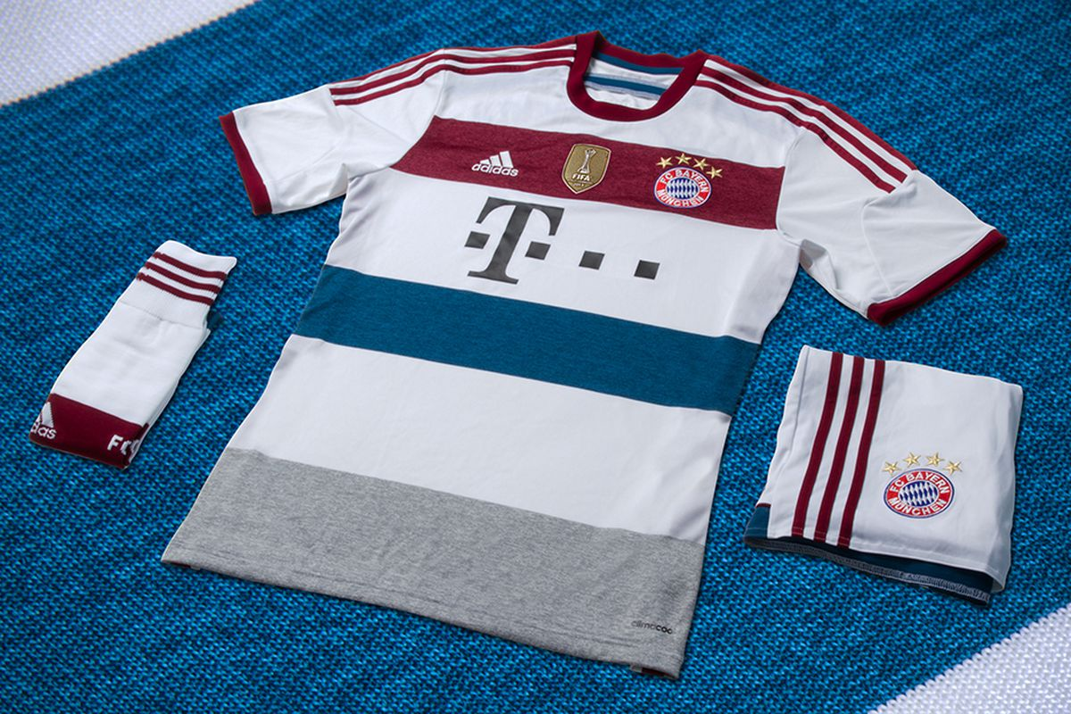 Bayern Munich reveal beautiful 2014/15 away kit - SBNation com