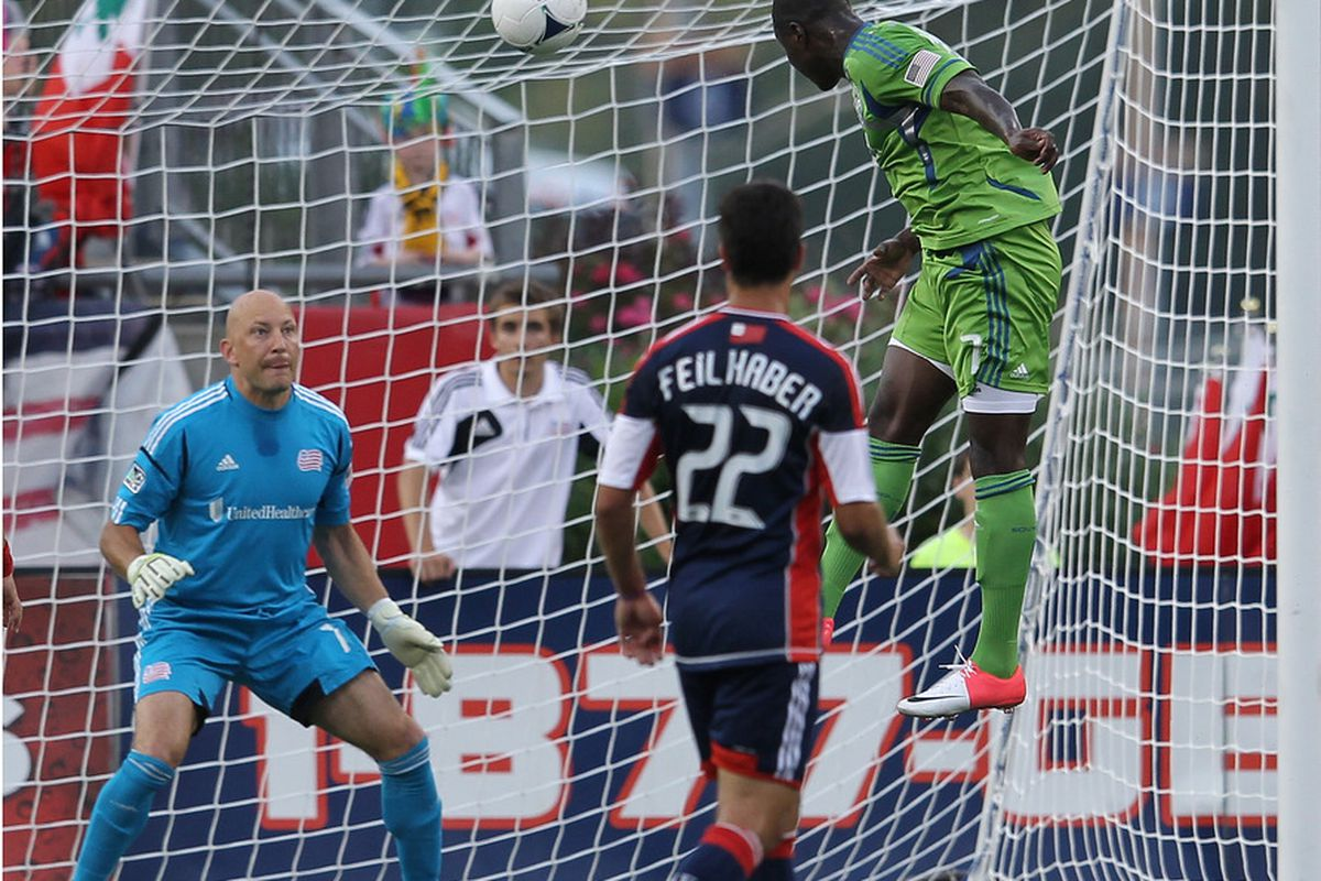 Eddie Johnson leads Sounders regulars in goals scoring and offensive productivity. (Photo by Jim Rogash/Getty Images)