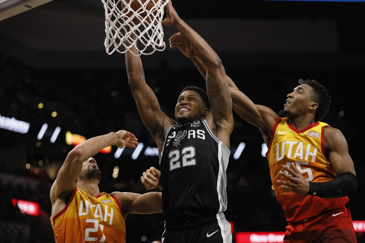 9fcbe4c38 Game Preview  San Antonio Spurs at Utah Jazz - Pounding The Rock