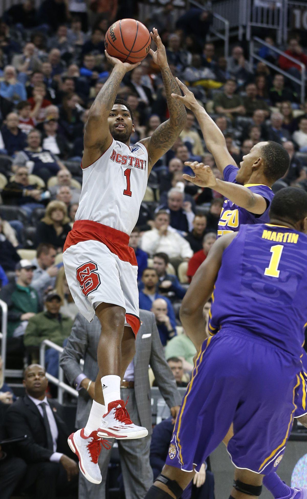 NCAA Tournament: Louisiana State vs. North Carolina State