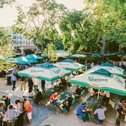"""The Bohemian Beer Garden; Photos by <a href=""""http://drielys.com"""">Driely S.</a> for Racked"""