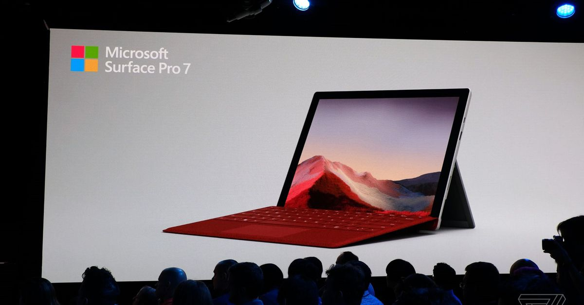Microsoft announces Surface Pro 7 with long-awaited USB-C port
