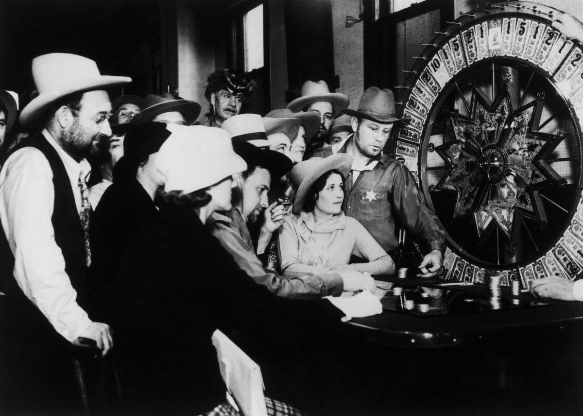 Las Vegas Casino On April 1935