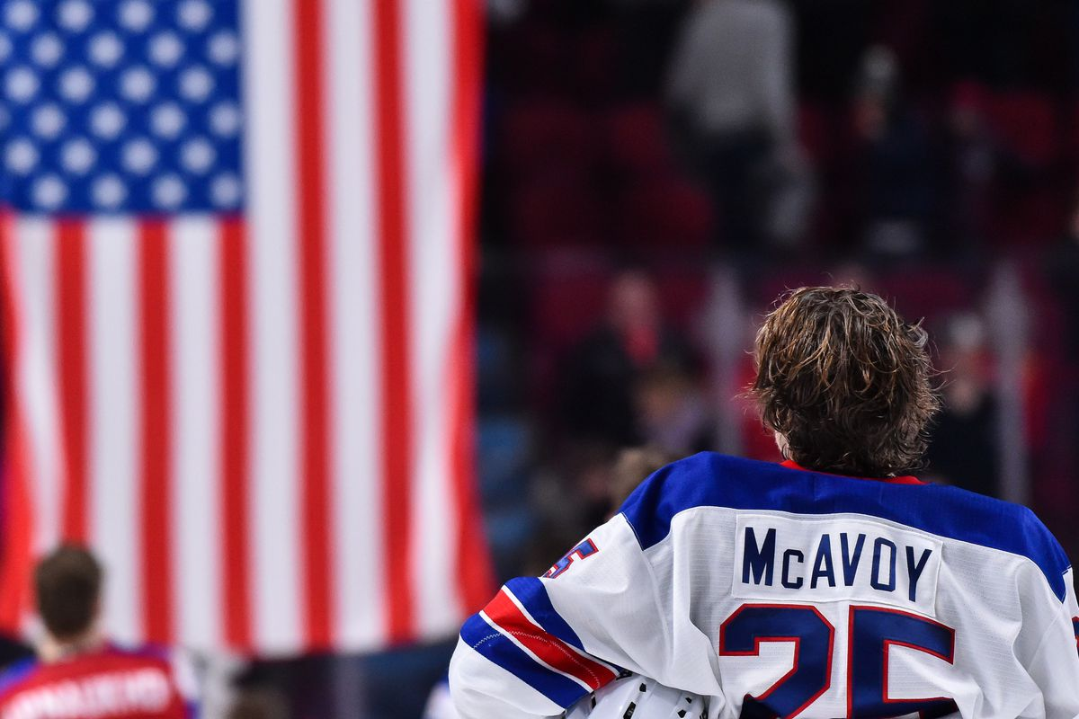 the best attitude 01709 d4fff David Quinn reflects on Charlie McAvoy - Stanley Cup of Chowder