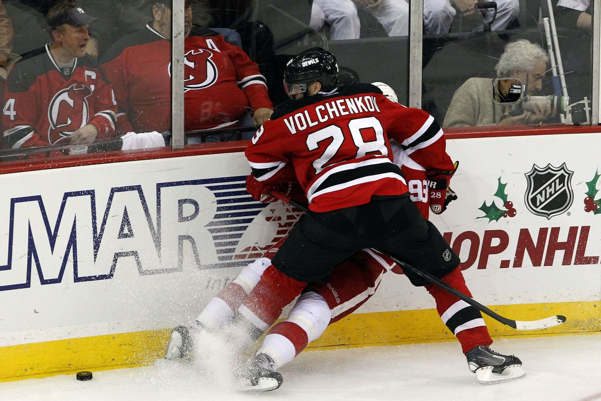 Anton Volchenkov has been a big-minute PK player for the Devils this season.