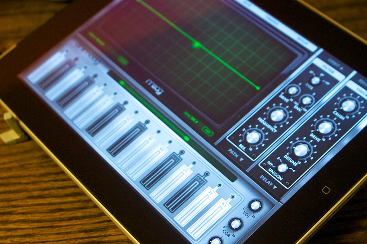 Animoog for iPad