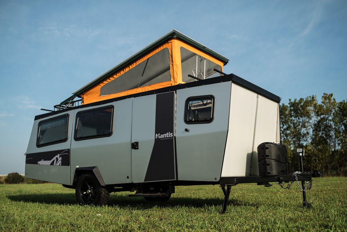 Taxa Outdoors debuts the Mantis, a lightweight camper that ...