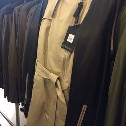 Avra trench coat, $180 (was $595)