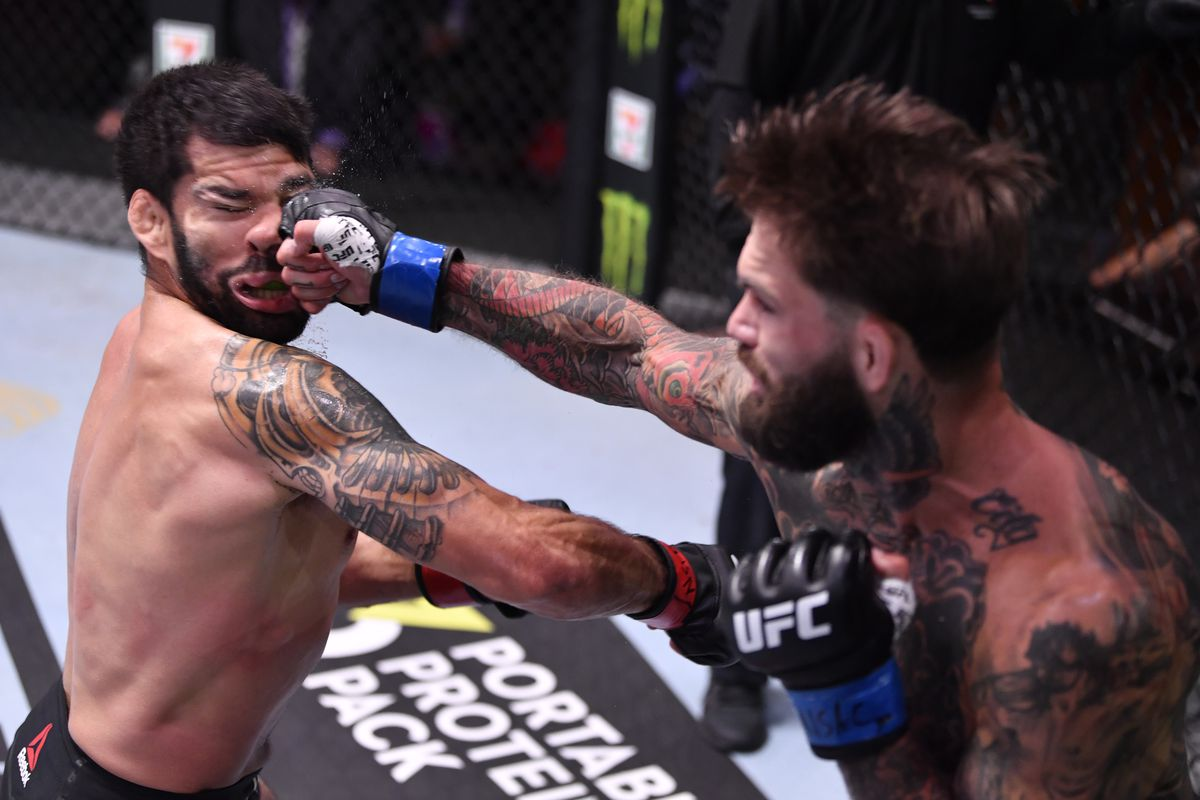 UFC 250 results: Cody Garbrandt faceplants Raphael Assuncao with  buzzer-beater knockout - MMA Fighting