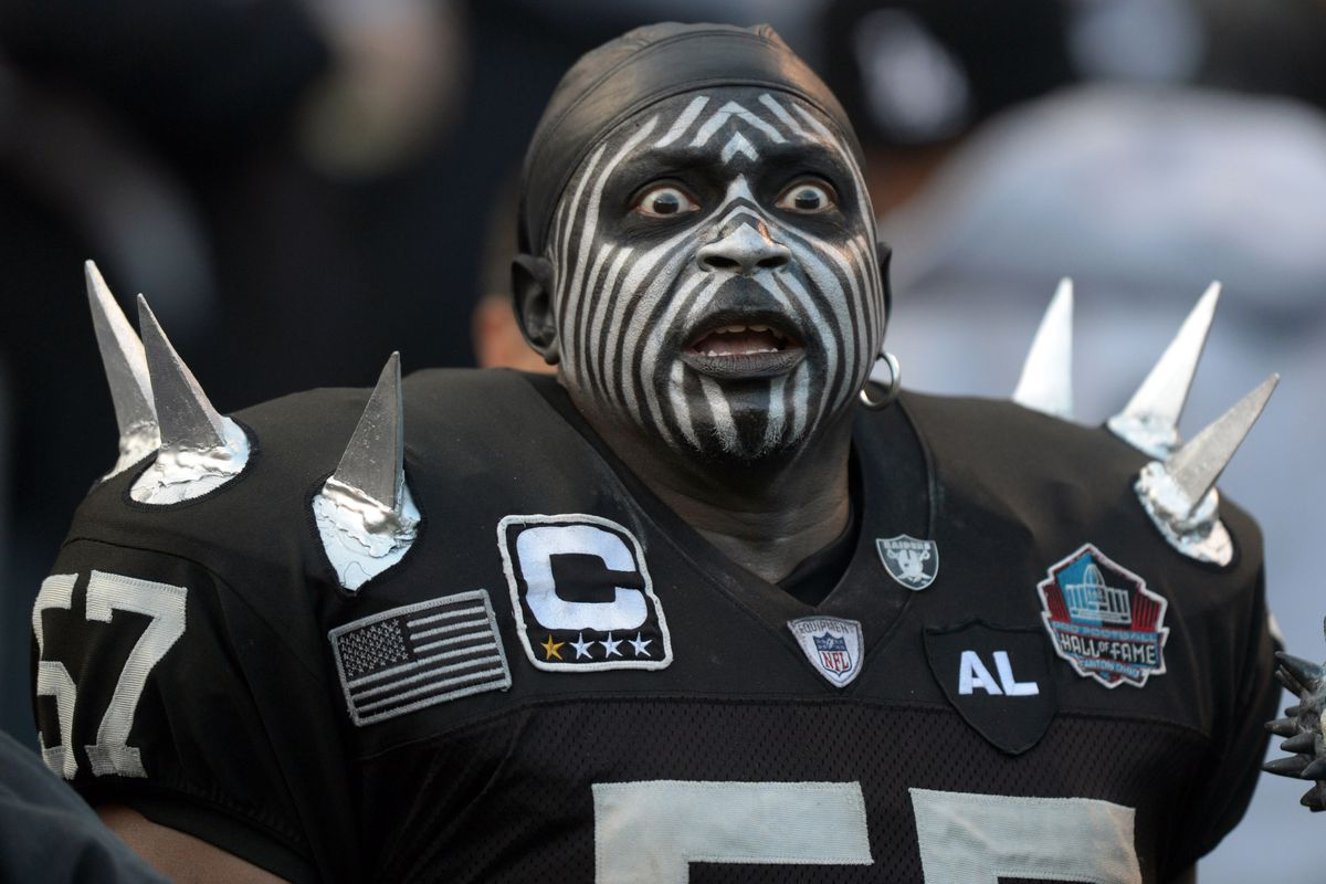 883ba1c49 Raider Nation revealed  Looking beyond the costumes - Silver And ...