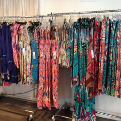 Tons of vacation-ready spring and resort maxi dresses in the mix.