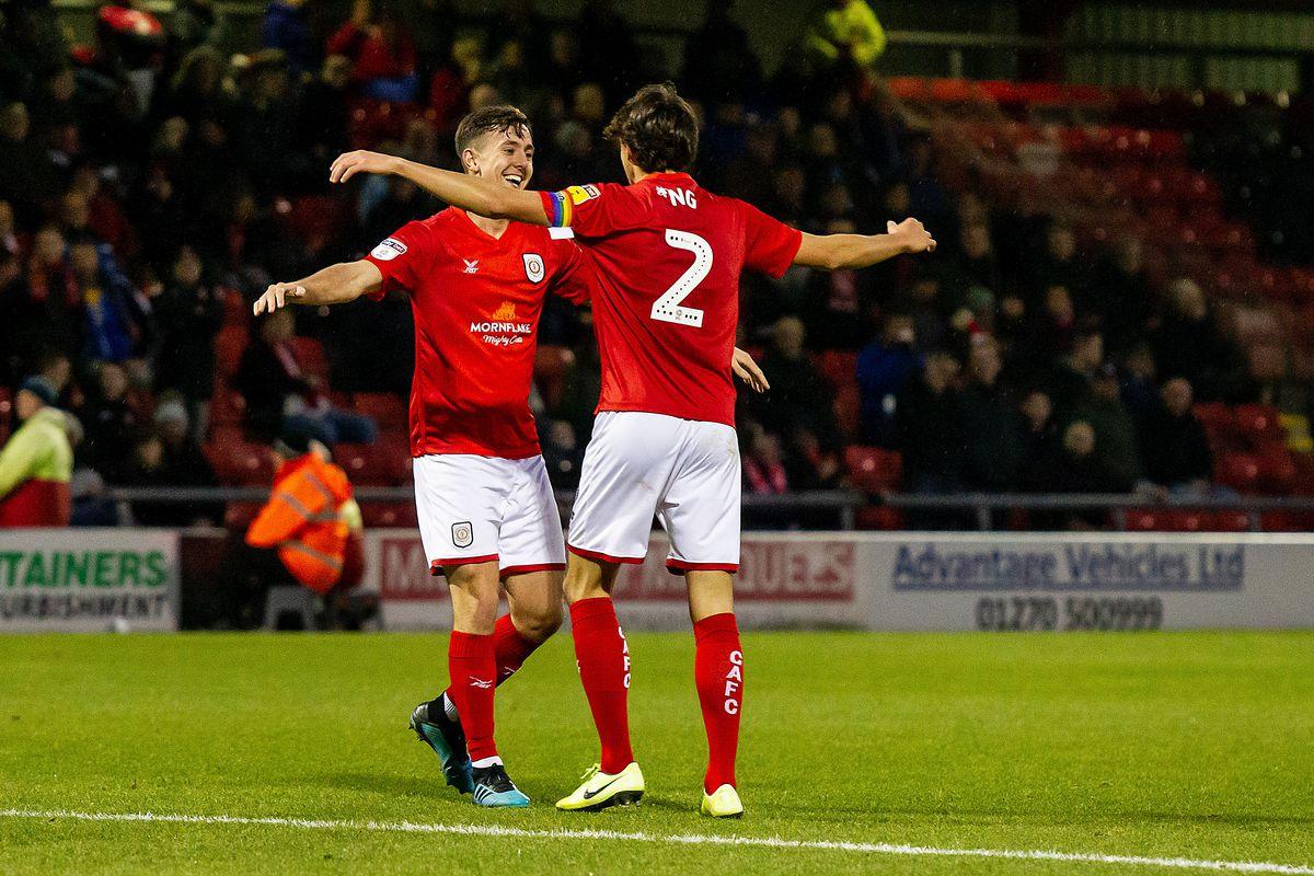 Crewe Alexandra v Morecambe - Sky Bet League 2