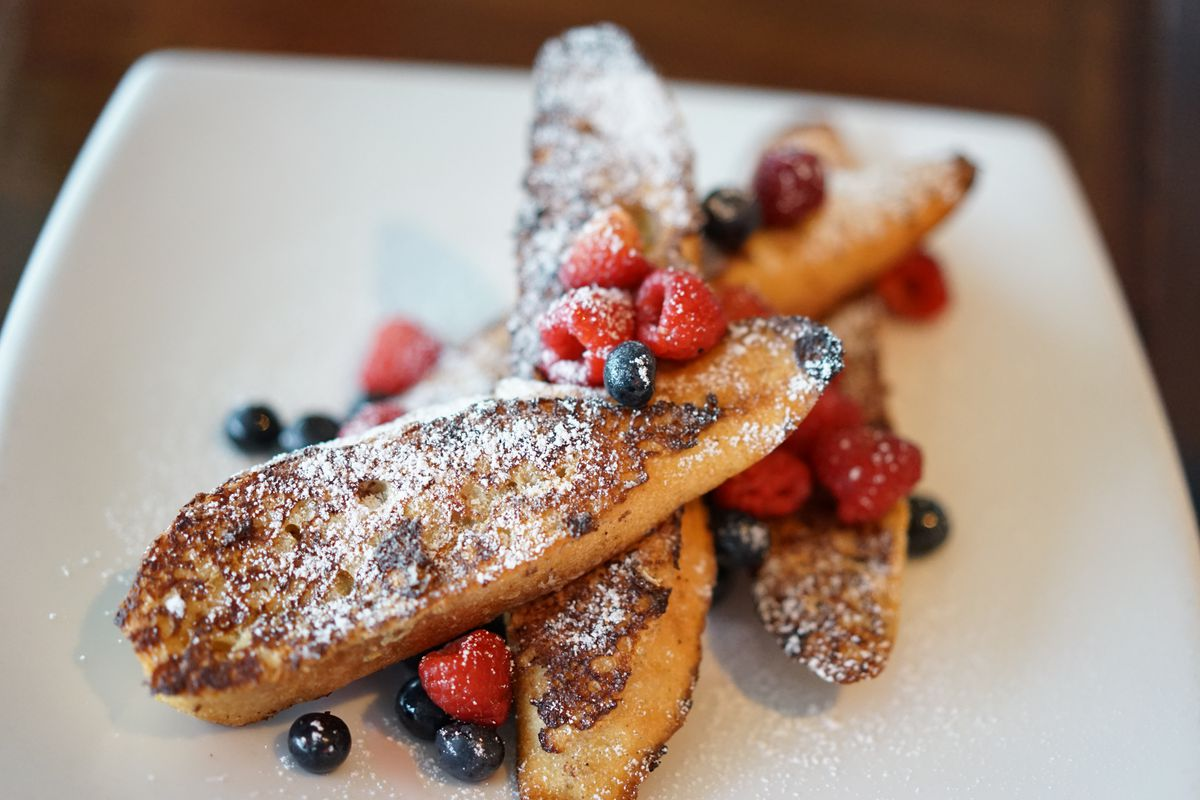 French toast from The League