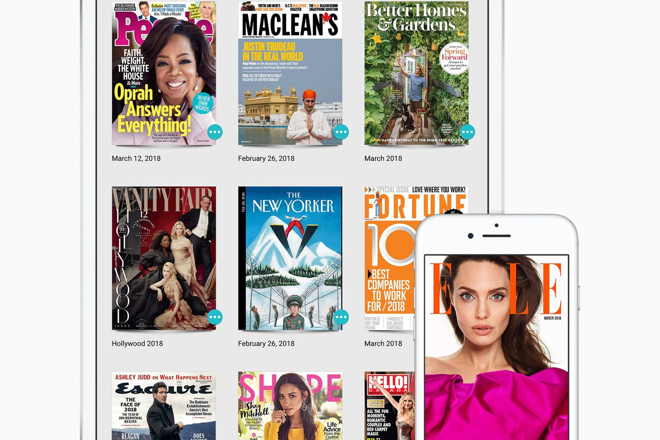 apple is buying the netflix of magazines for an undisclosed amount