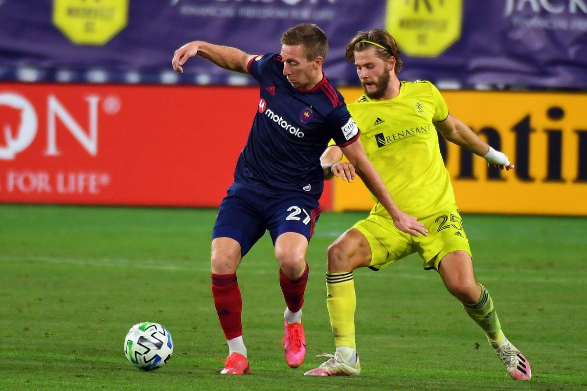 MLS: Chicago Fire at Nashville SC