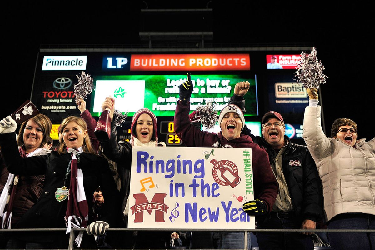 Last year, the Bulldogs went to the Music City Bowl.  Where will they be this year?