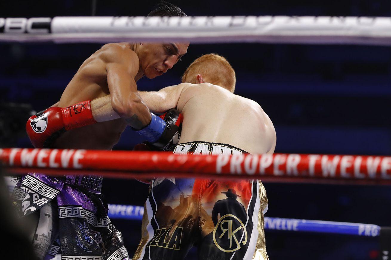 EltFyXDWkAM7tvX.0 - Barrios knocks out Karl in sixth round, keeps WBA belt