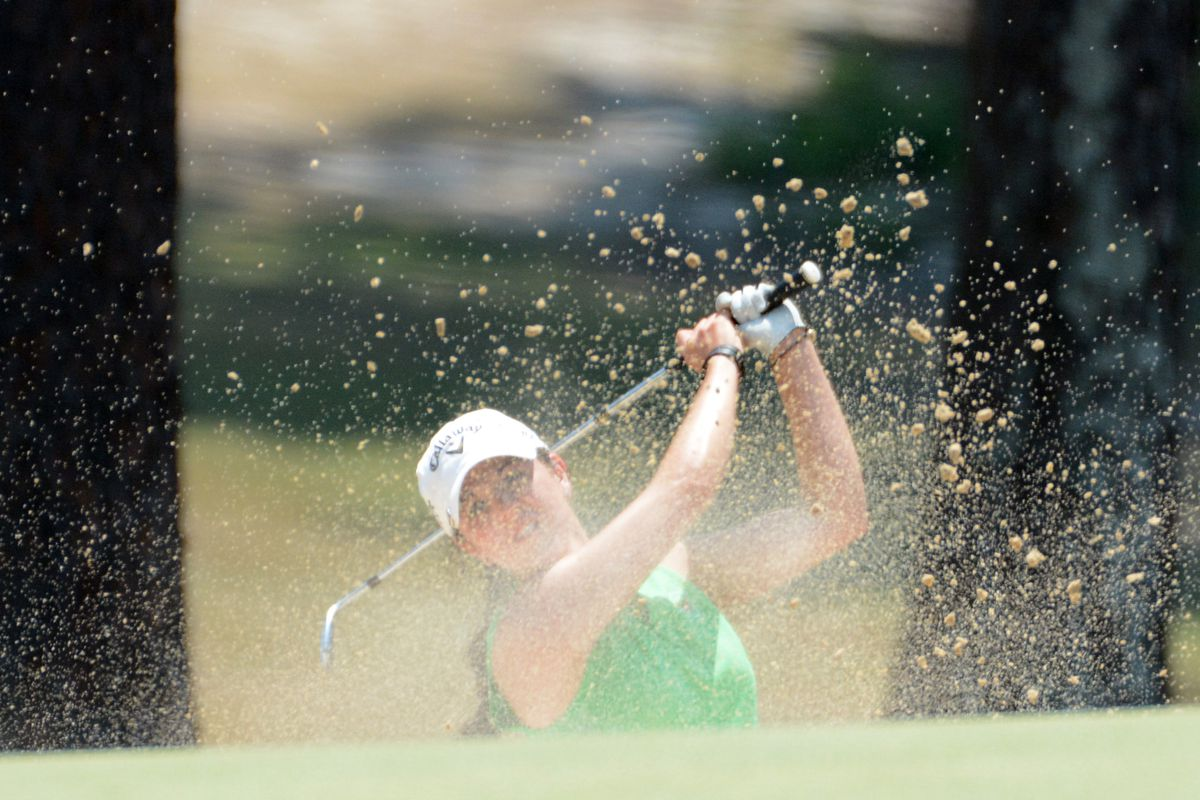 Talley at U.S. Amateur play.