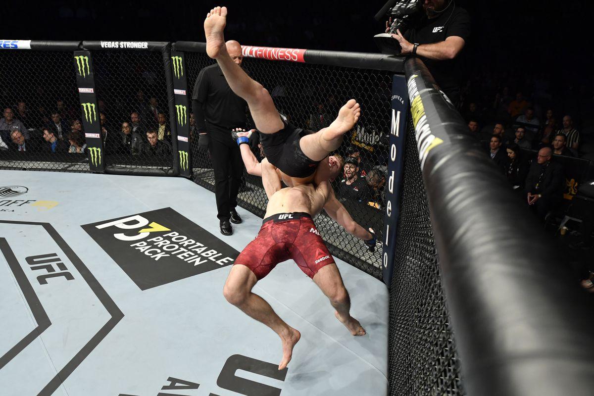 UFC 248: Madsen v Hubbard