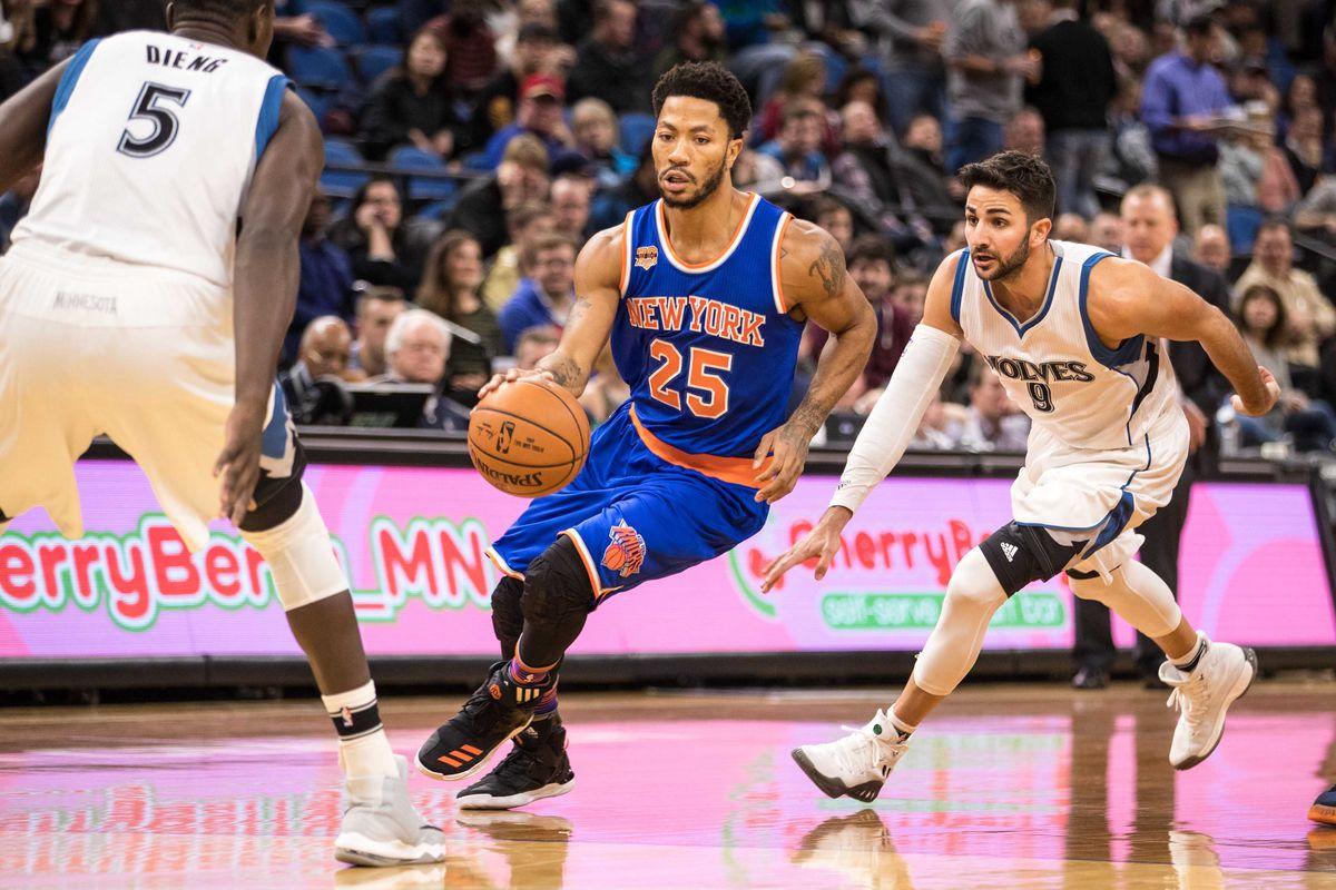 NBA: New York Knicks at Minnesota Timberwolves