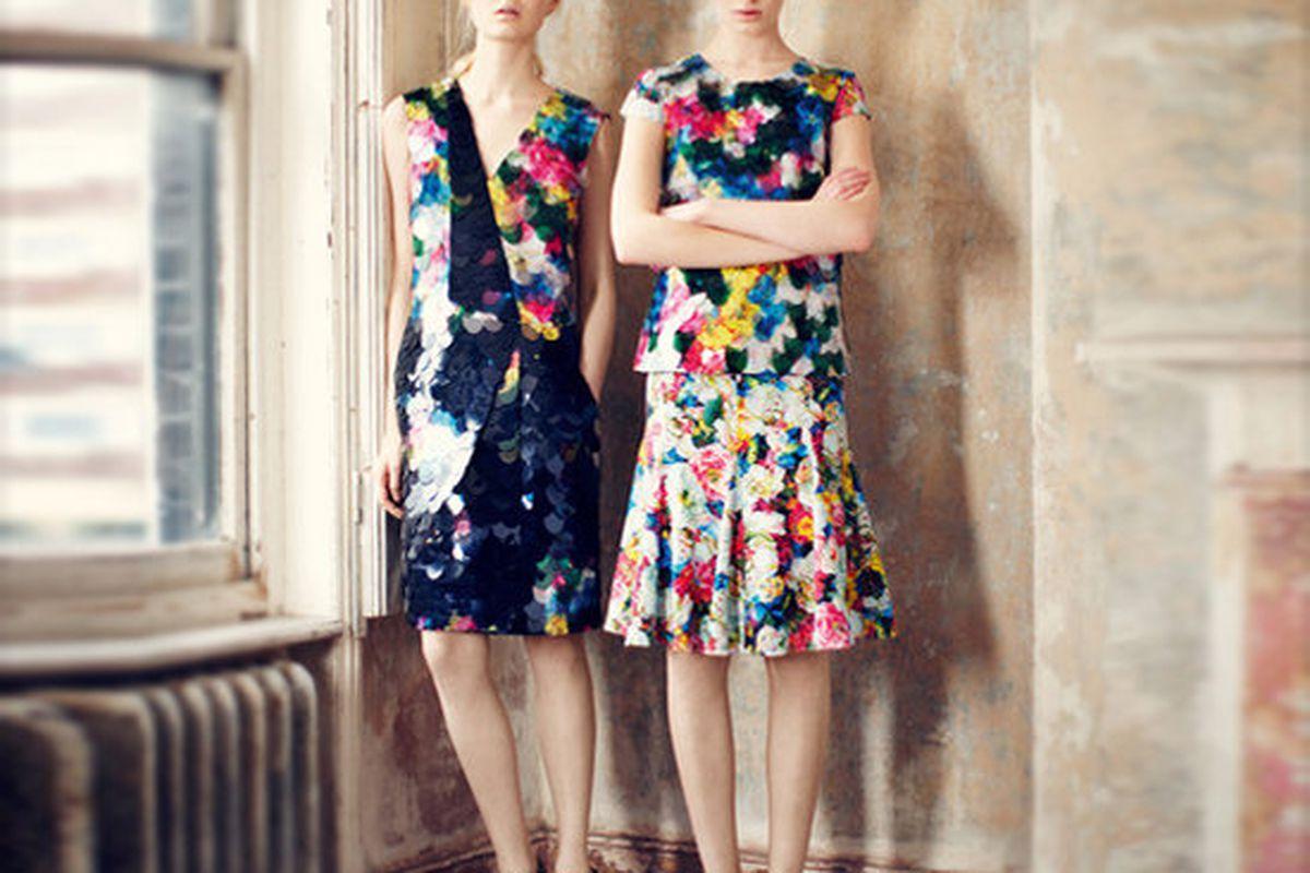 Erdem Pre-Fall 2013, via Fashionologie