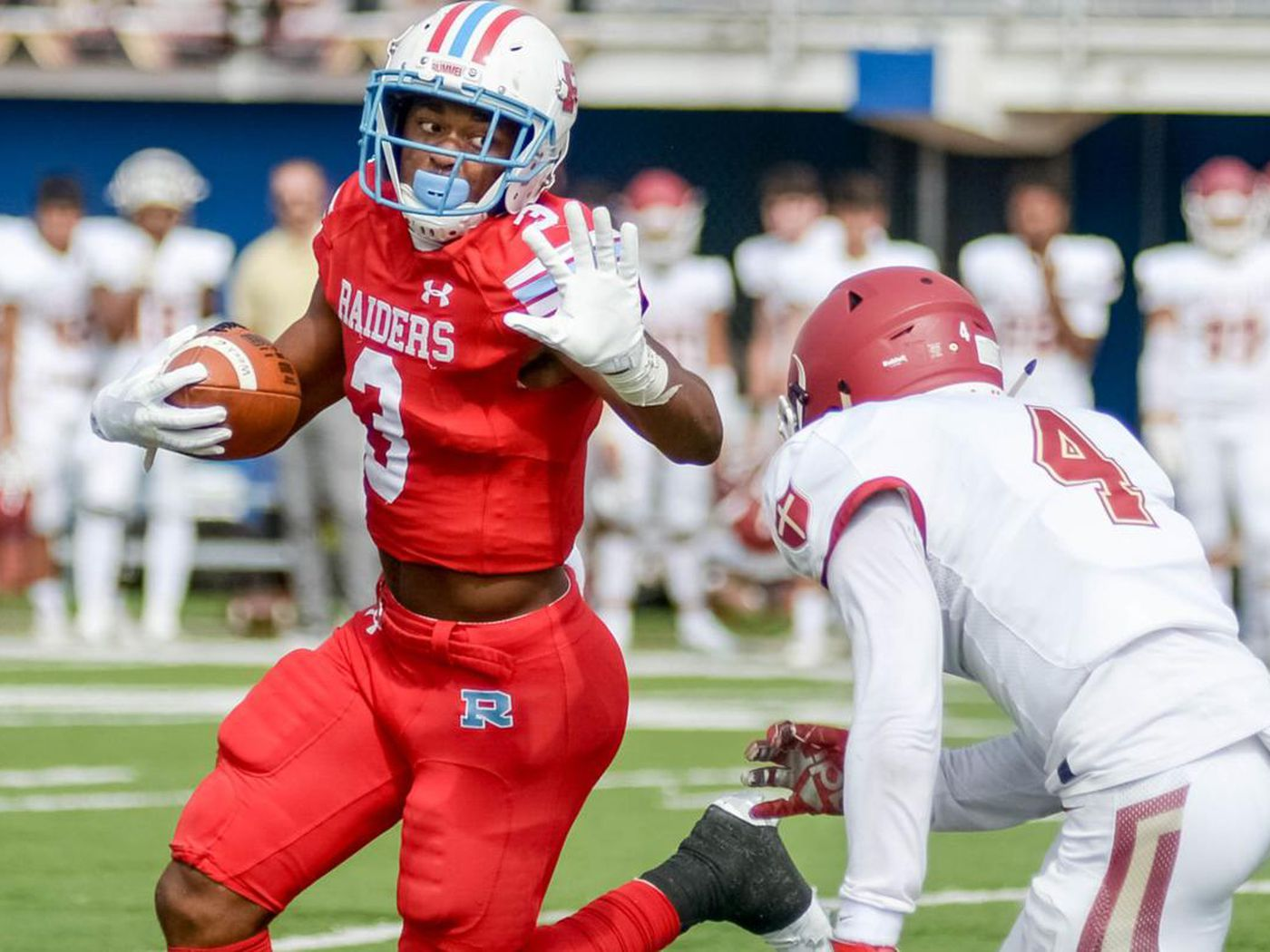 Louisiana Running Back Logan Diggs Commits To Notre Dame Football One Foot Down