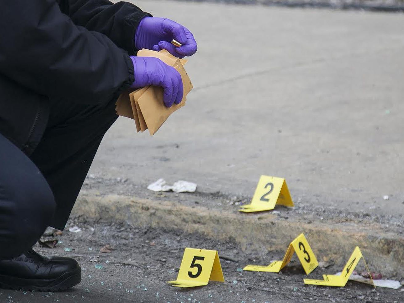 Two teens were wounded in a shooting March 6, 2021, in Brighton Park.