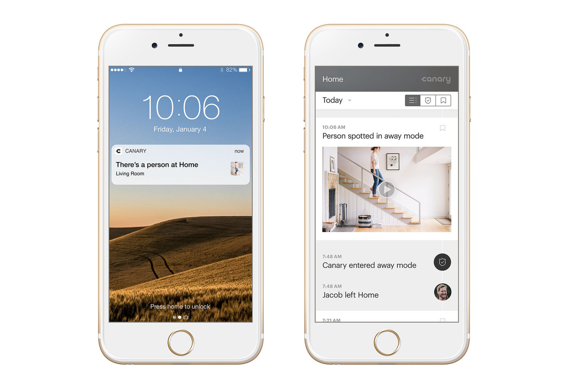 Canary's home cameras can now detect people and send more