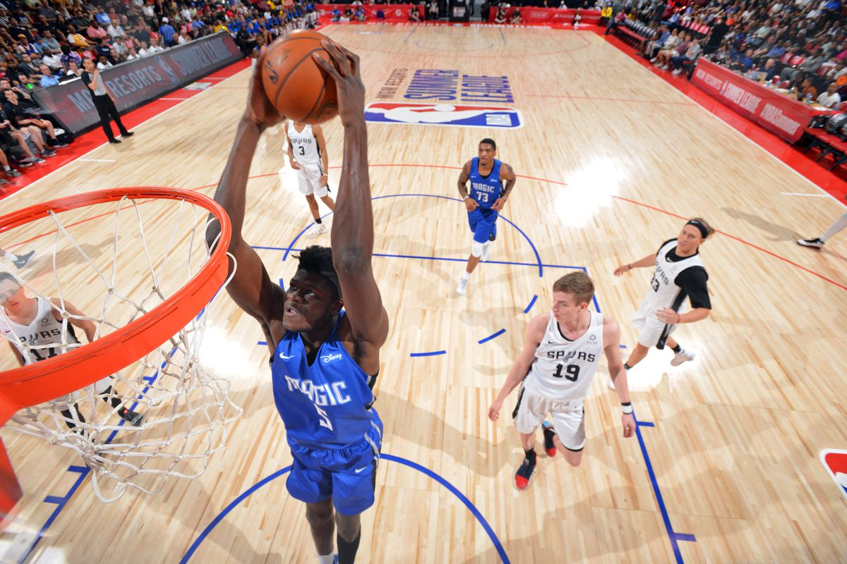 2019 Las Vegas Summer League - Day 1 - Orlando Magic v San Antonio Spurs