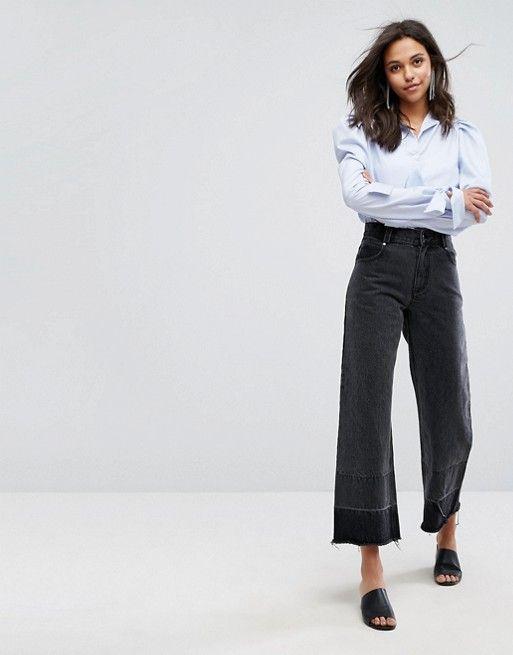 Evident Wide-Leg Jean