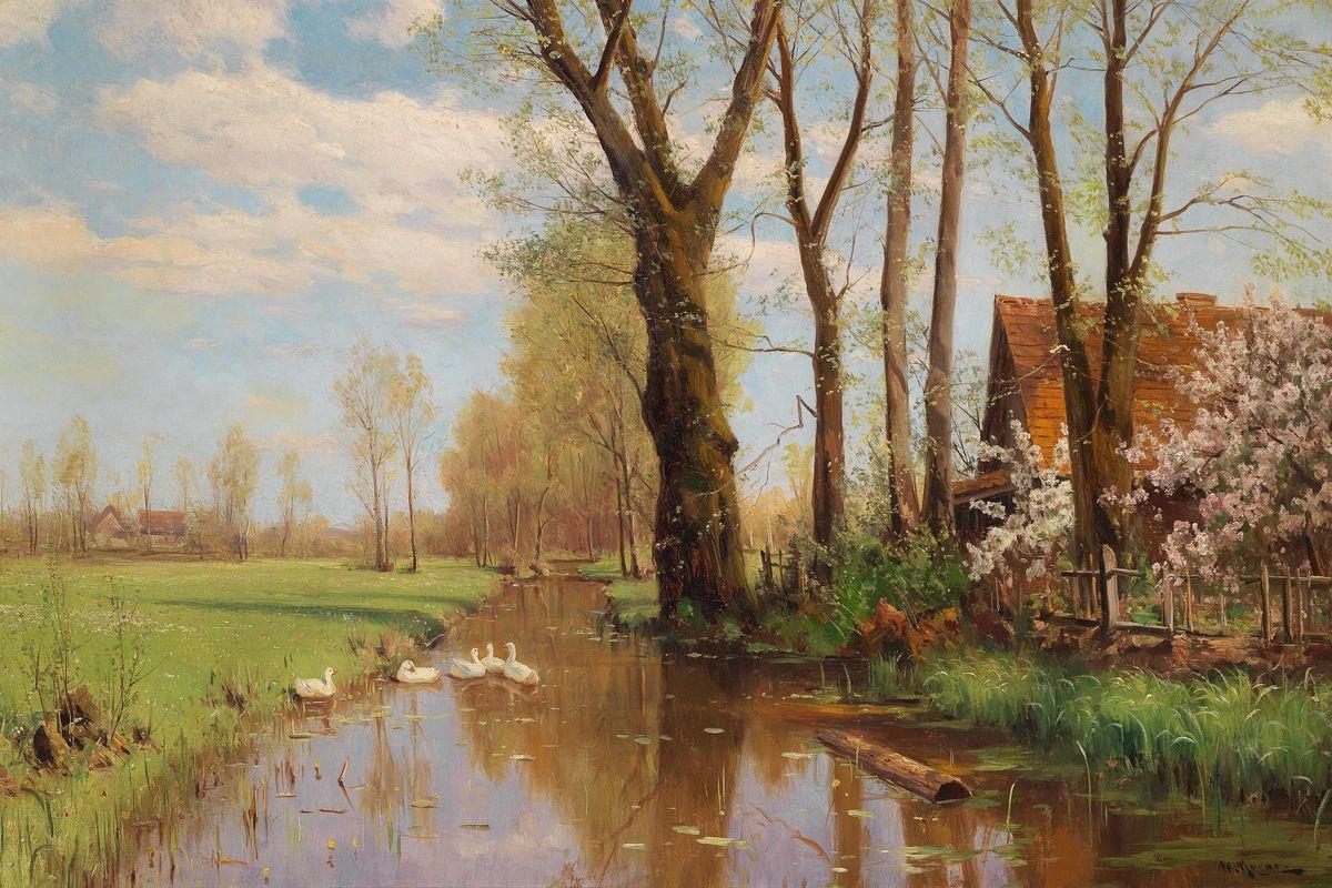 Sommeridylle, Walter Moras