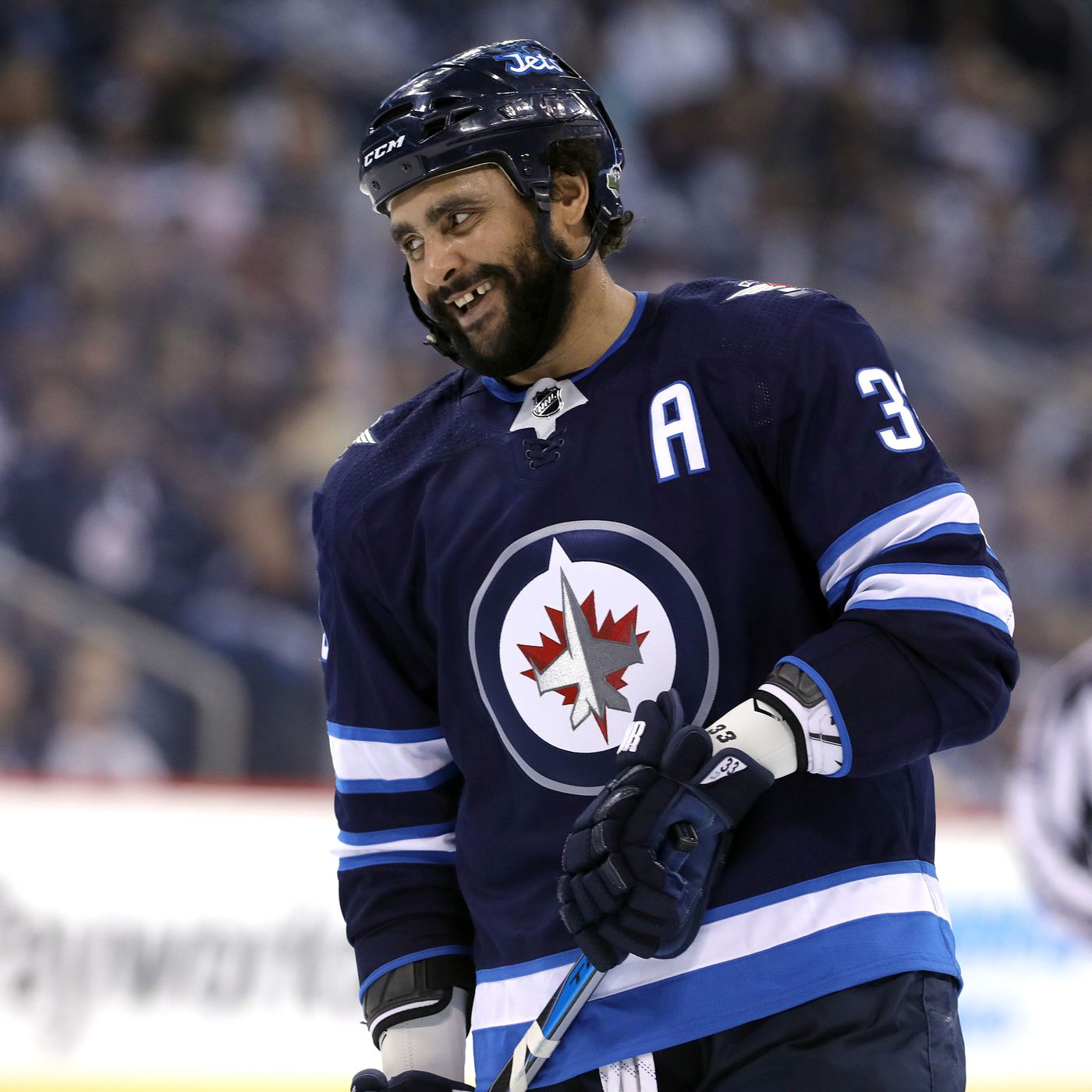the best attitude 50a36 5f89d Jets grant leave of absence to former Blackhawks player ...