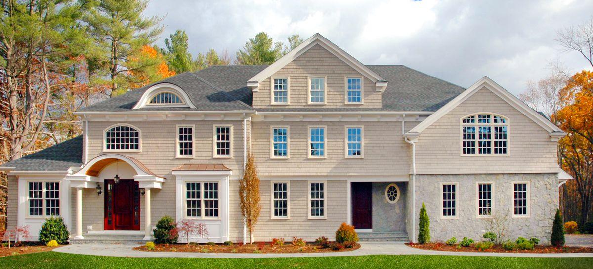 SBC Cedar Shingles Exterior Home