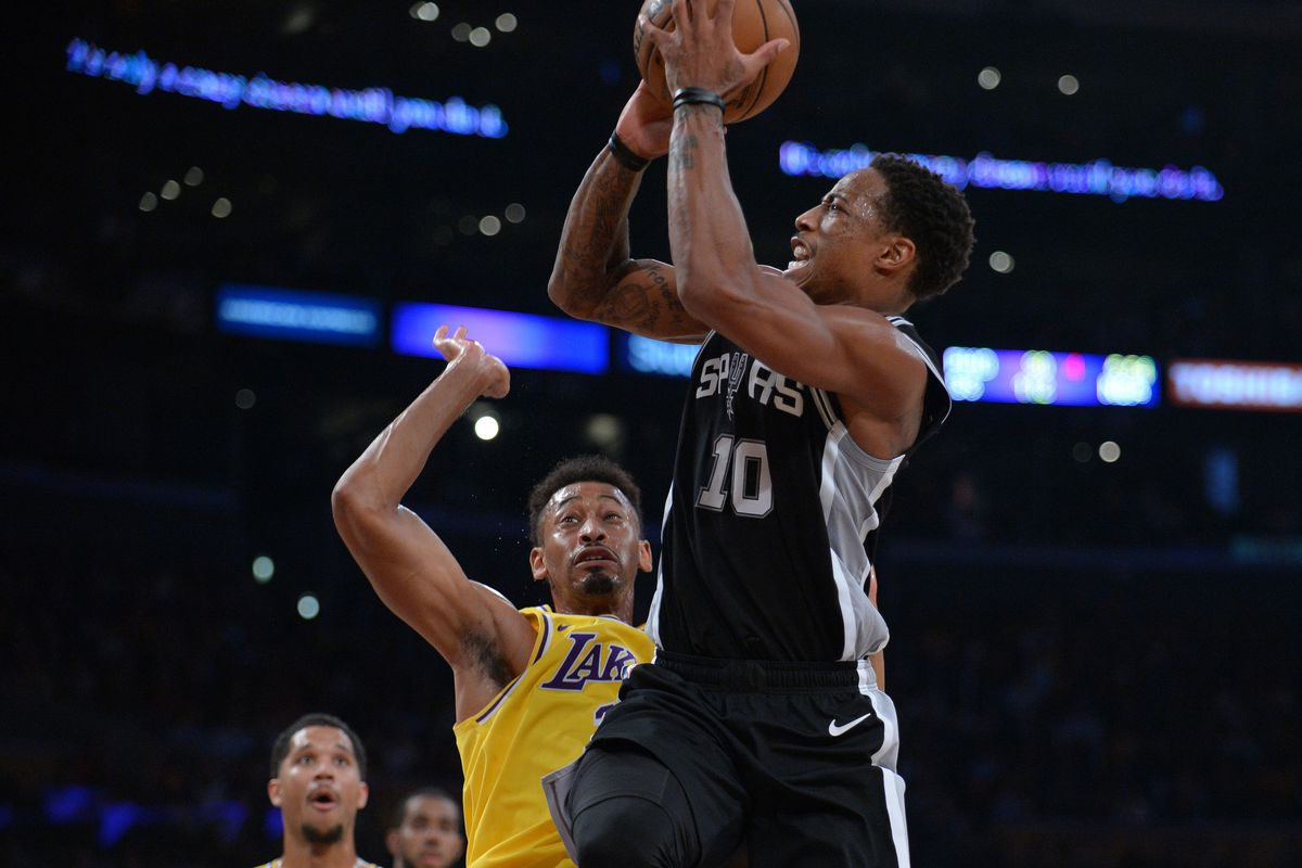 d9a426890 Spurs win a thriller vs the Lakers in overtime