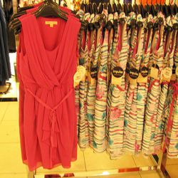 Our favorite, a red dress for $69