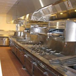 The brand new kitchen with all the bells and whistles