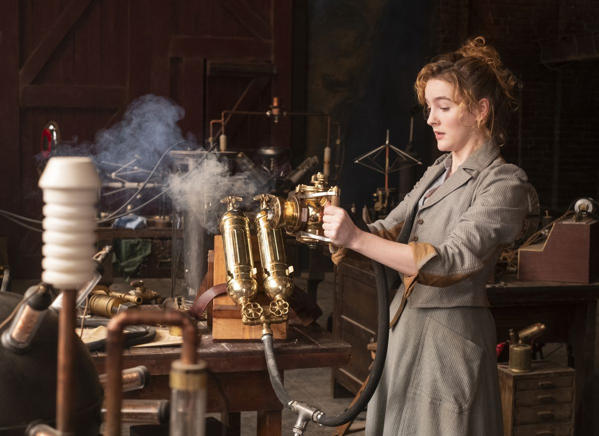 Ann Skelly messes with a steam invention in The Nevers