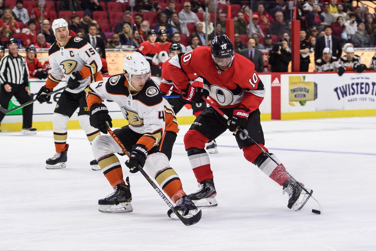 NHL: FEB 04 Ducks at Senators