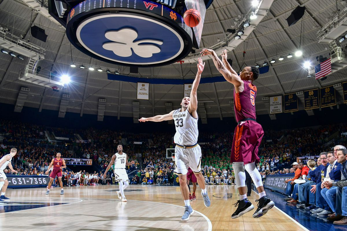NCAA Basketball: Virginia Tech at Notre Dame